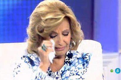 Estupor en Telecinco por la confirmación 'oficial' de que Teresa Campos está arruinada