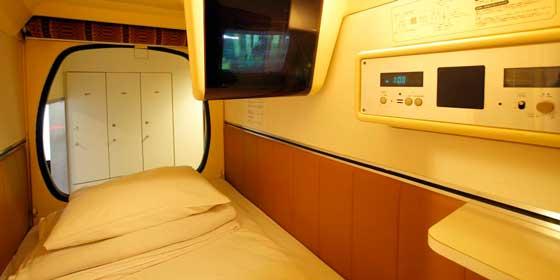 """Hoteles """"Cápsula"""": Capsulevalue Kanda, Tokio"""