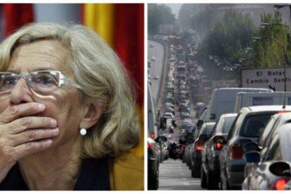 Otro atropello de Carmena: sus desesperantes semáforos en la A-5 provocan más de una hora de atasco
