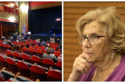 """Manuela Carmena admite que el bono cultural para jóvenes es un fracaso: """"Existe un gran número de butacas vacías"""""""