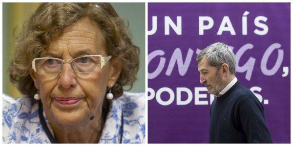 Carmena se arrodilla frente a Podemos: Ahora admira a Julio Rodríguez y no quiso que se sintiese dolido