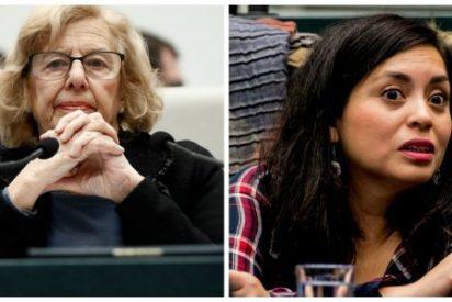 Manuela Carmena piensa en clave electoral y apoya a la imputada Rommy Arce acusada por injurias graves a la Policía Municipal