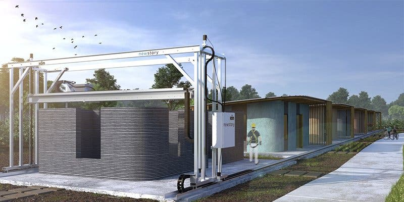 Así es la casa que cuesta 3.500 euros y se construye en un solo día