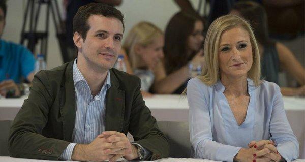 """Cristina Cifuentes y Pablo Casado no tendrán que pasar por la comisión de los """"másters falsos"""""""