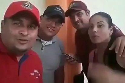 """Vídeo: Funcionarios chavistas del Zulia quieren """"caerle a plomo"""" a los 'Guaidocitos'"""