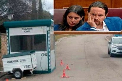 ¡Qué sencillo es para Iglesias jalear a los okupas mientras la Guardia Civil vigila su 'dacha' de Galapagar!