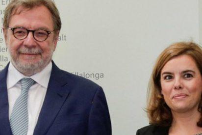 """Soraya y Cebrián, 'cazados' en un reservado: """"Cuenta con mi apoyo si vuelves a la primera línea política"""""""