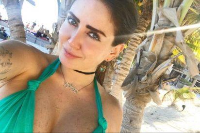 """La modelo de Playboy Celia Lora: desnuda, en un jacuzzi """"a lo Salma Hayek"""""""