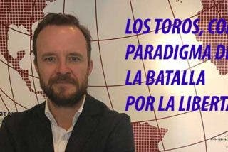 """Chapu Apaolaza: """"La tauromaquia es la última frontera. Si caen los toros, el animalismo censor pasará por encima de la libertad"""""""