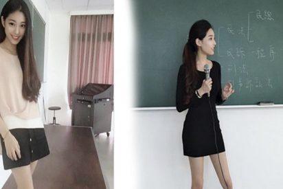 Así es 'la profesora más bella de Taiwán' que lo peta en las redes