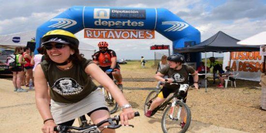 1500 participantes en los circuitos BTT organizados por la Diputación de Palencia