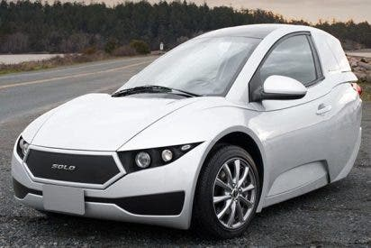 Los coches eléctricos baratos serán de tres ruedas y para un sólo pasajero