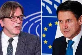 """UE al mandatario italiano por no apoyar a Guaidó: """"Eres la marioneta de Salvini y Di Maio"""""""