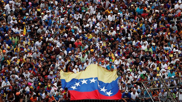 """La UE, México y Uruguay debaten en Montevideo una salida """"dialogada"""" a la crisis en Venezuela"""