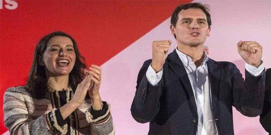 Albert Rivera da el visto bueno al salto de Arrimadas a Madrid y provoca una sacudida en Ciudadanos
