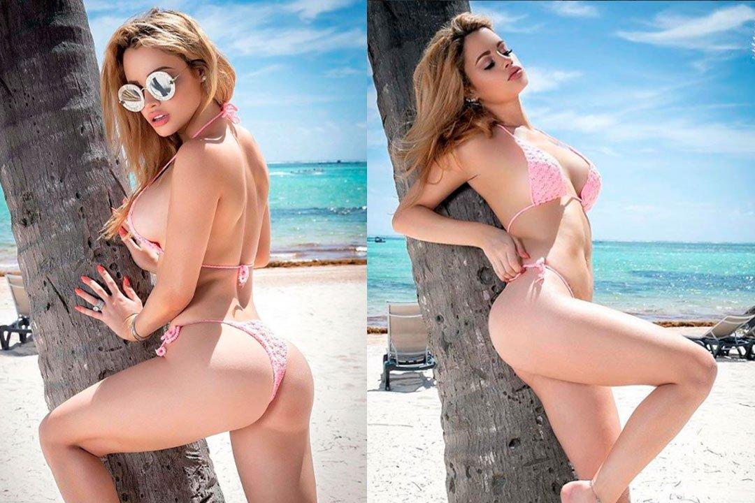 """Fotos: Yilena Hernández, la """"Barbie cubana"""" de carne y hueso"""