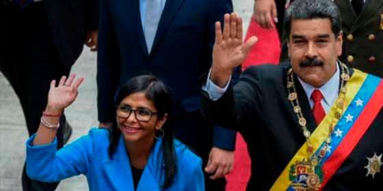 """Vicepresidenta de Maduro contra la ayuda humanitaria de EE.UU.: """"es cancerígena"""""""