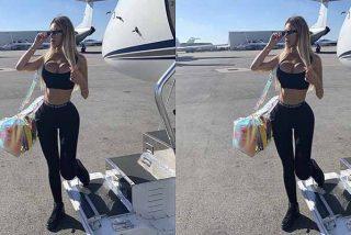 Alexa Dellanos se presenta con un atuendo que marca curvas en Instagram