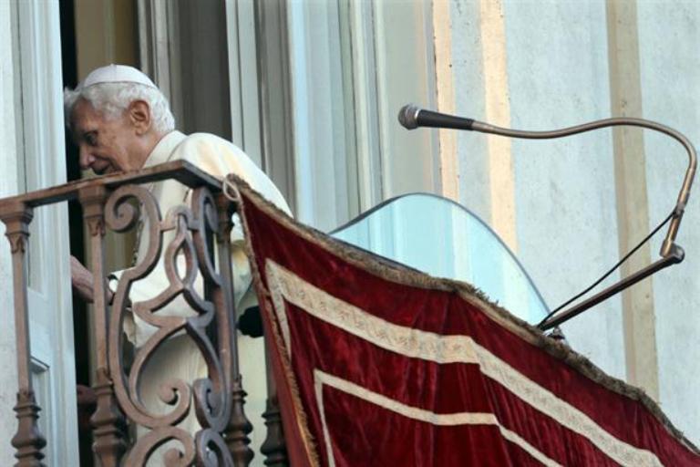 Seis años de la histórica renuncia de Benedicto XVI