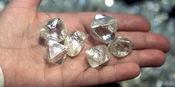Reproducen las condiciones en las que se forman los diamantes en la Tierra profunda