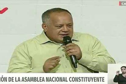"""Diosdado Cabello amenaza al presidente Guaidó: """"Usted no ha escuchado el silbido de una bala"""""""