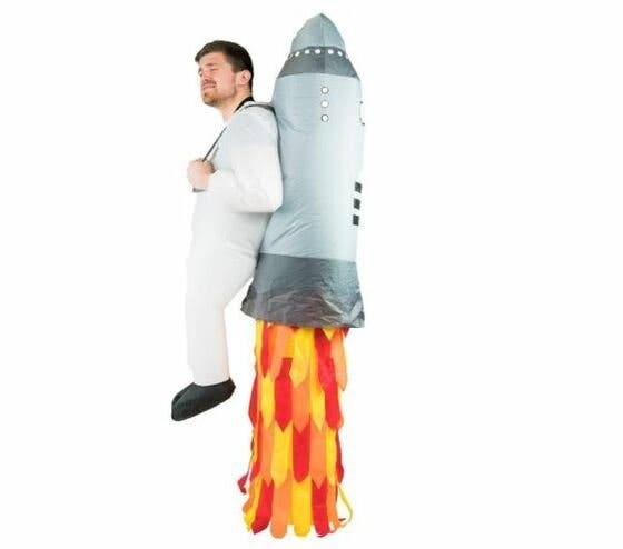 Disfraces de Carnaval originales - hombre cohete