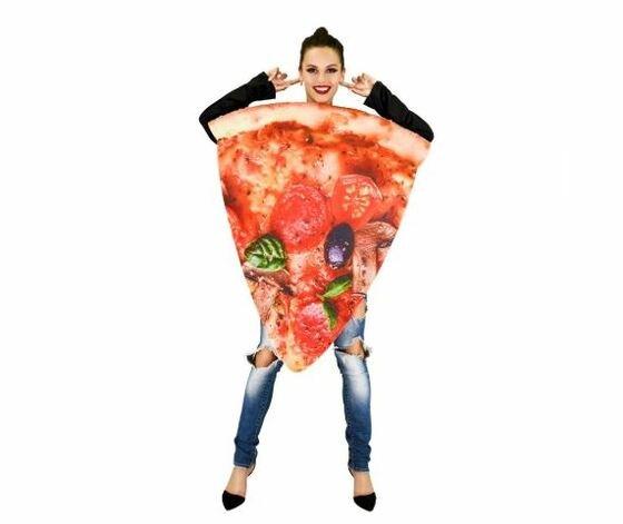 Disfraces de Carnaval originales - porción pizza