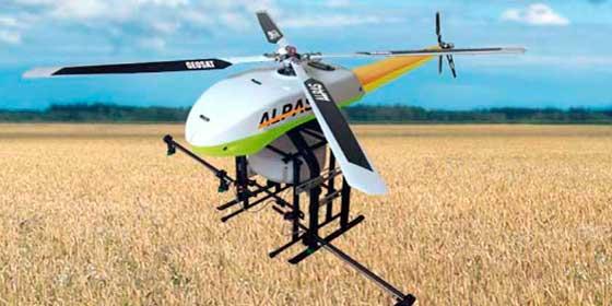 Alpas II, el nuevo drone inteligente para el sector agrícola