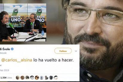 El tuit de Évole sobre la entrevista de Alsina a Torra que revoluciona la red