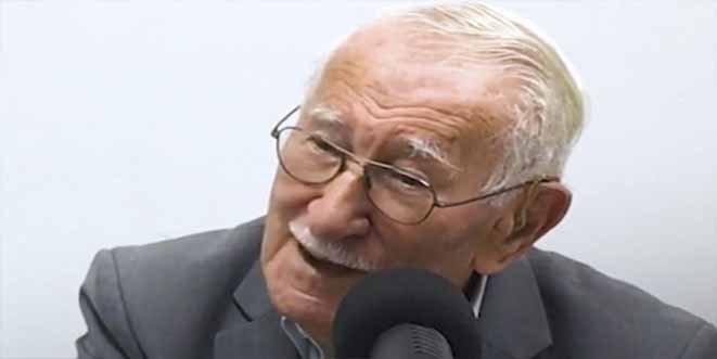 El secreto para la felicidad de un sobreviviente del Holocausto que tiene 98 años