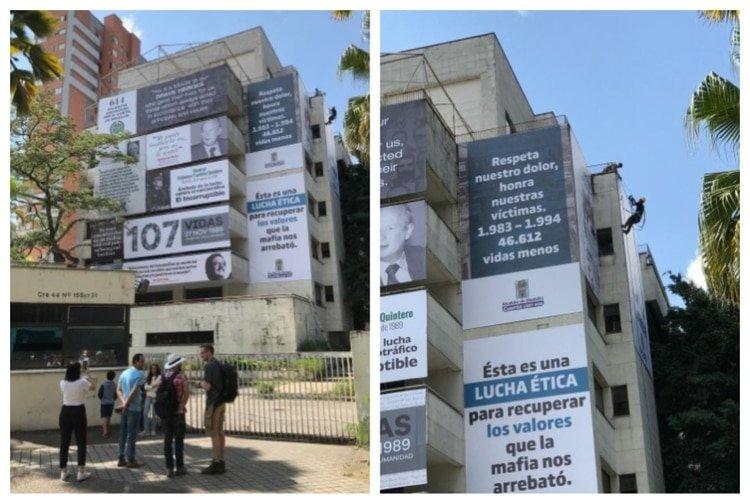 Demolerán el edificio Mónaco, el emblema del narco Pablo Escobar