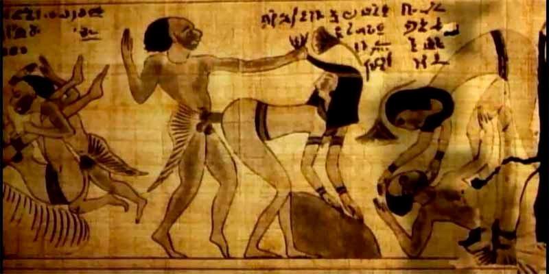 Ni te imaginas las perturbadoras prácticas sexuales que les encantaban a los guarretes antiguos egipcios