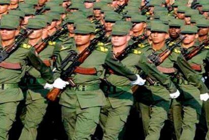 """Ejercito cubano cierra filas con Maduro: """"Patria o muerte, venceremos"""""""