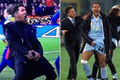 Diego Simeone explica el significado de su obsceno gesto contra la Juventus