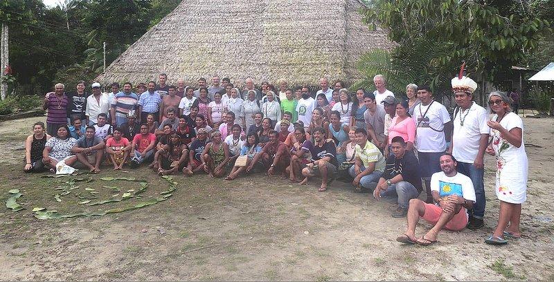 La Iglesia se encuentra con los indígenas de la Panamazonía para escucharlos y descubrir cómo caminar juntos