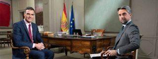 El sutil detalle en la entrevista a Pedro Sánchez en TVE que es imposible pasar por alto