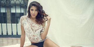 Foto: La estrella de Fox Sport Erika Fernández se quita toda la ropita