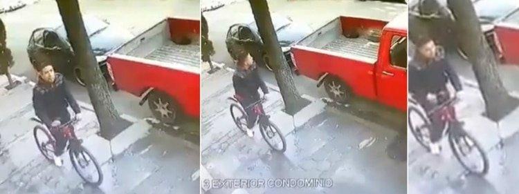 VIDEO: La curiosa reacción de dos mujeres ante un ciclista exhibicionista