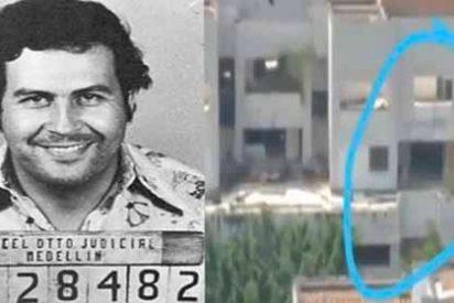 Aparece un supuesto fantasma de Pablo Escobar en la implosión del edificio Mónaco