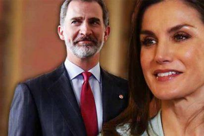 El Rey Felipe y la Reina Letizia se hinchan a comer croquetas en el centro de Madrid