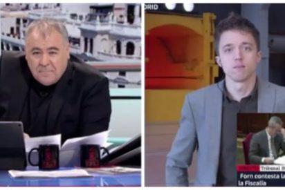La memorable cara de descoloque de Ferreras ante las intenciones electorales de Errejón para las Generales