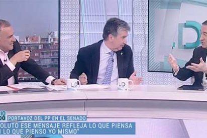 """Jauría sobre el PP en TVE: Pedrojota se afana de tal manera en cazar a Ignacio Cosidó que el 'Lechero' Fortes le pide """"que no acose al testigo"""""""