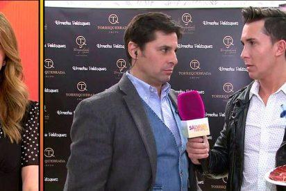 Fran Rivera torea con displicencia a 'Sálvame' en una entrevista que irritaba a los colaboradores