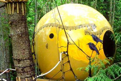 Hoteles increíbles: Free Spirit Spheres, Isla de Vancouver, Canadá