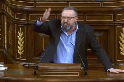 """El golpe de gracia del cabreado Girauta a los diputados separatistas: """"¡No quiero verles ni en pintura!"""""""