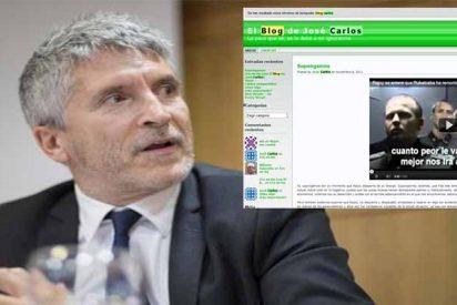 El ministro Grande-Marlaska tiene el Ministerio más desquiciado que el camarote de los Hermanos Marx