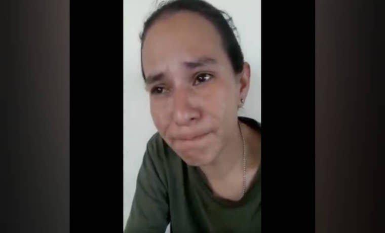Vídeos: La súplica de una teniente chavista detenida por la seguridad indigena