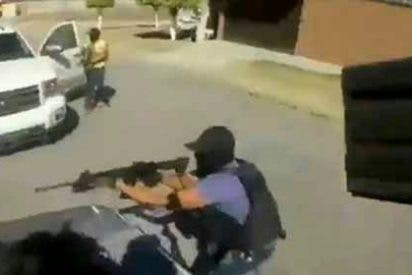 El vídeo que muestra a miembros del cartel de Santa Rosa de Lima ejecutando a 5 hombres del Cártel Jalisco