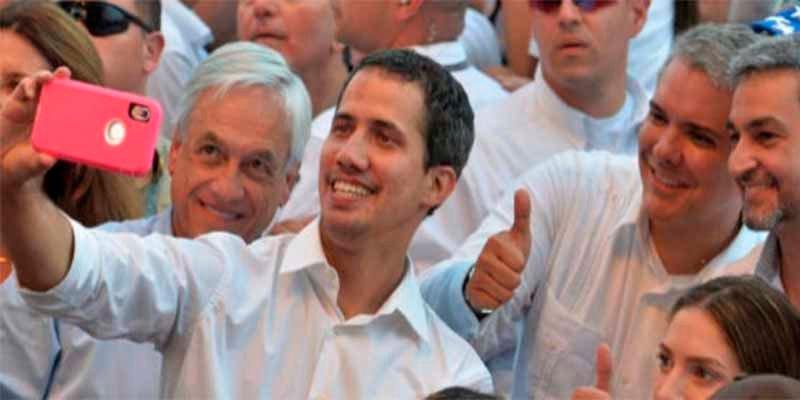 Guaidó cruzó a Colombia y asistió al concierto contra el chavismo ayudado por militares venezolanos