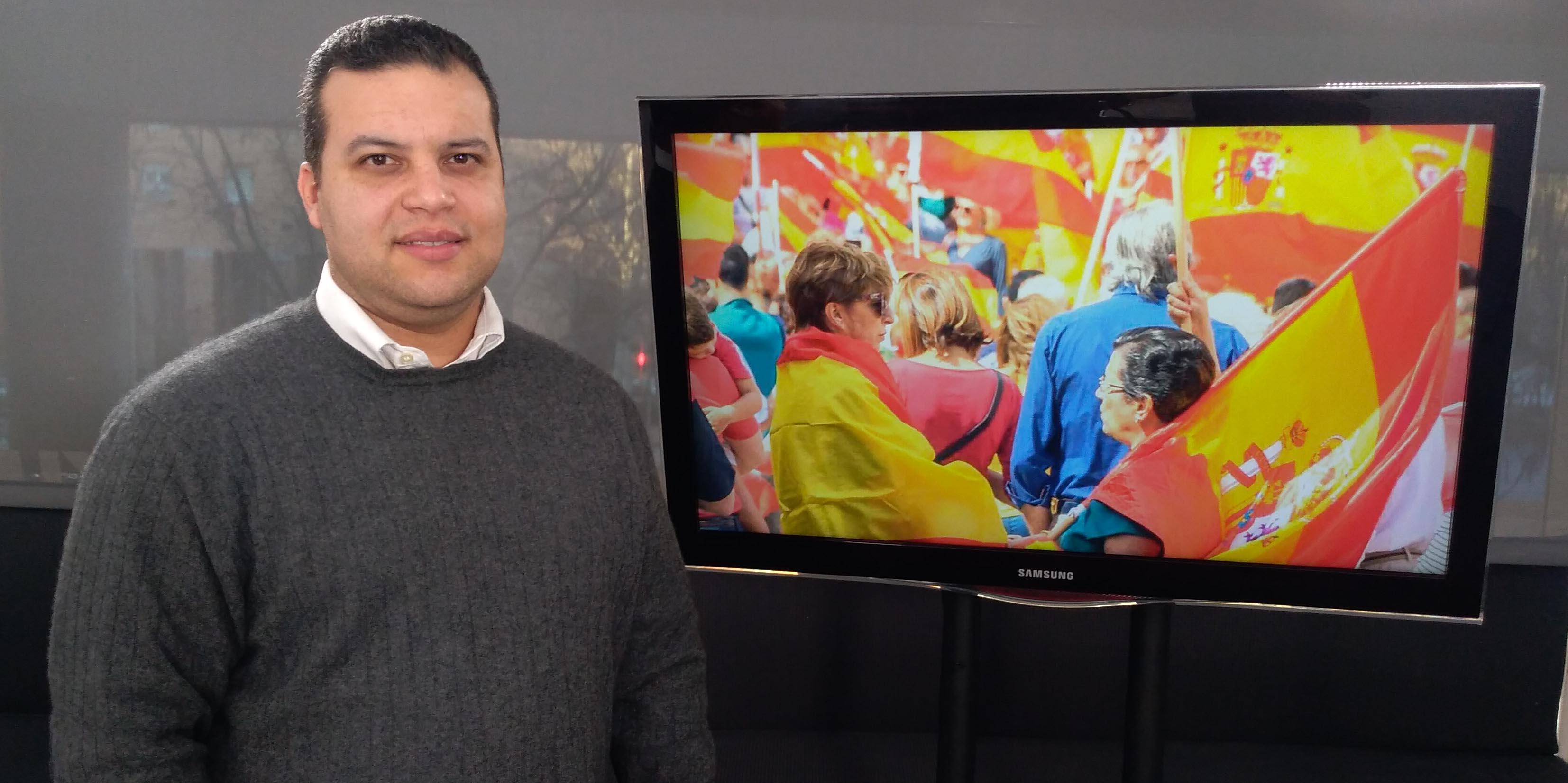 """Manifestación 'Por España': """"Acusarnos de fascistas forma parte del manual del G2 cubano"""""""